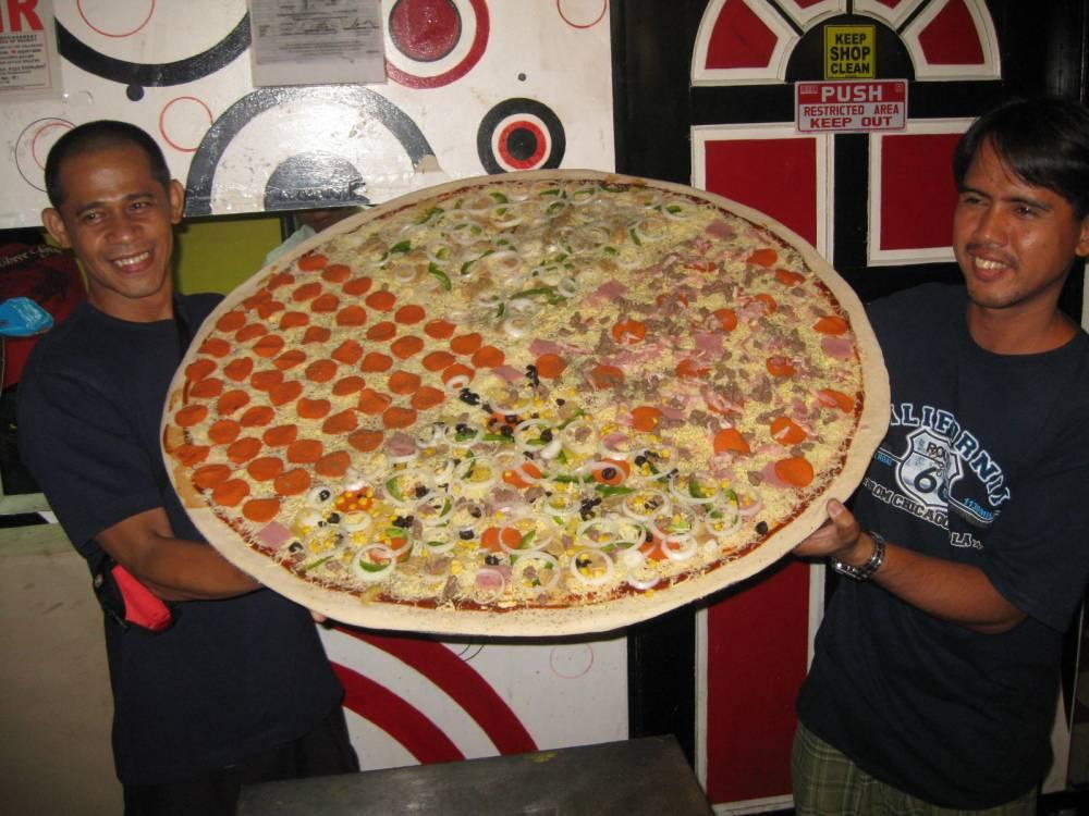 BIGGEST PIZZA - EL BUONO-(MY REVIEW) (2/2)