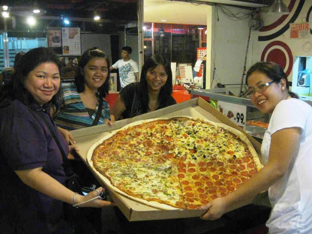 BIGGEST PIZZA - EL BUONO-(MY REVIEW) (1/2)