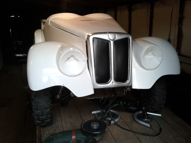 MG Body: with grille installed