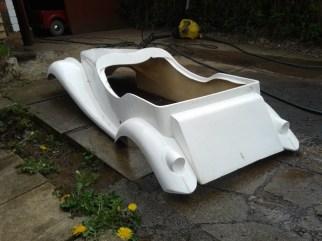 MG Body: Rear bare shell
