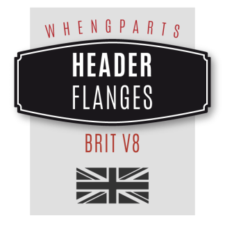 Brit V8 Header Flanges
