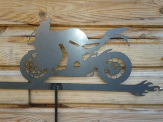 Weather Vane: KTM-RC8 Motorbike