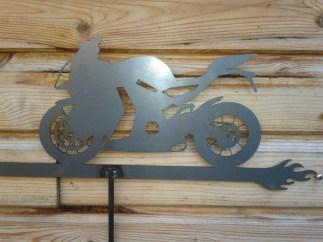 Weather Vane: KTM-RC8 Motorbike