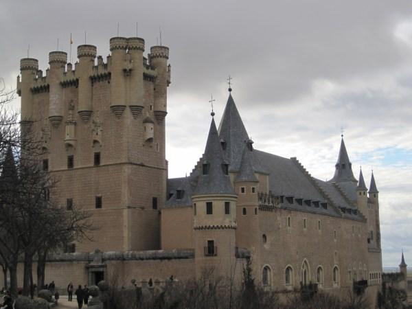 Alcazar Of Segovia Wheninespana