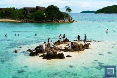 Bulog Island Sand Bar