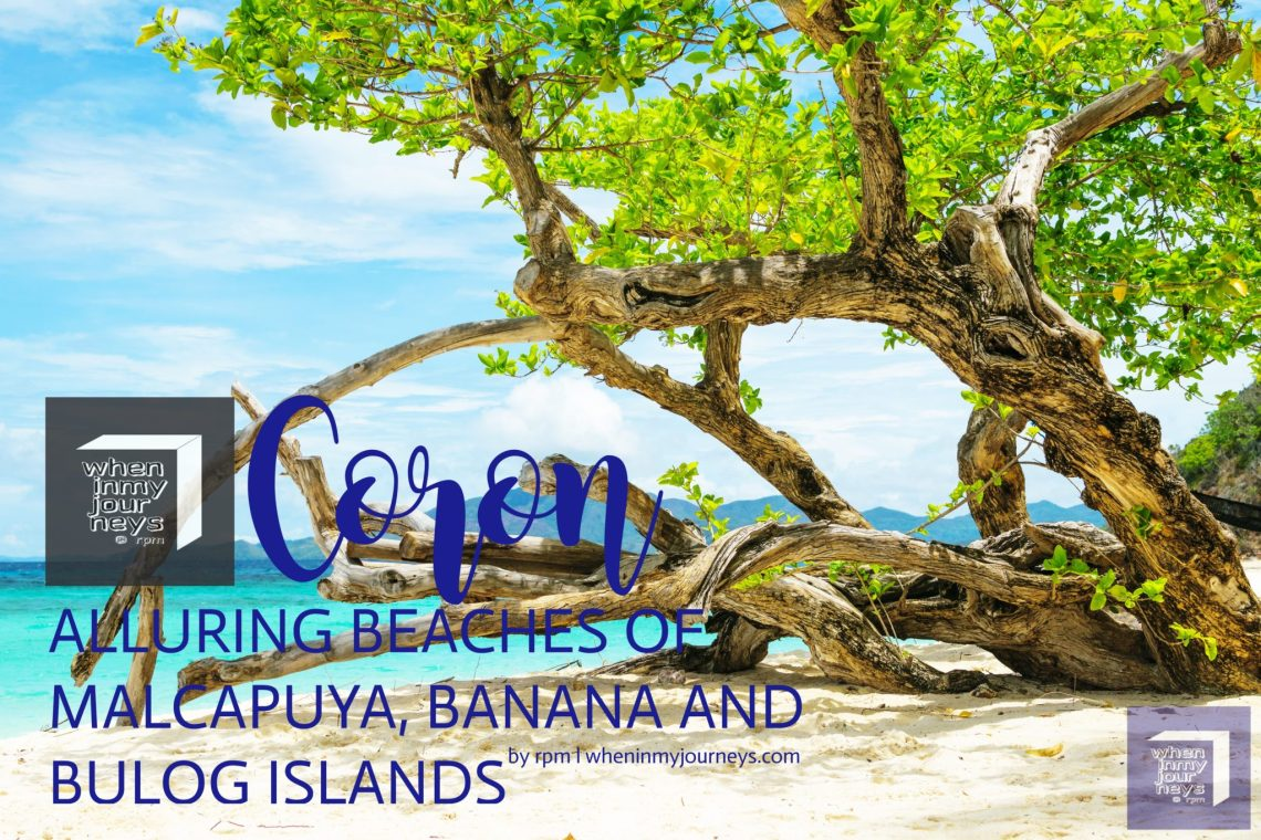 Coron Alluring Beaches of Malcapuya, Banana and Bulog Islands