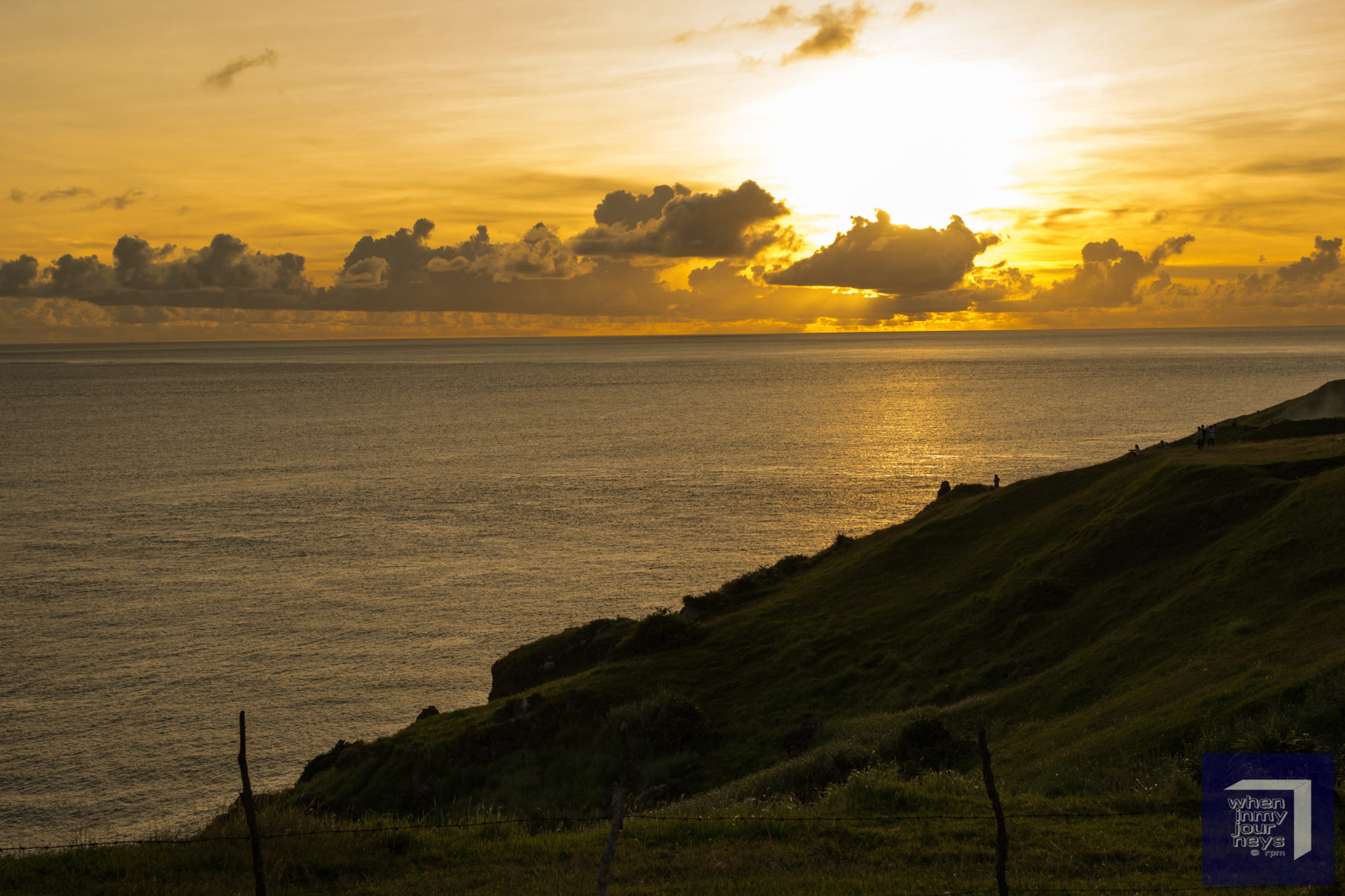 Sunset in Naidi Hills Basco Batanes
