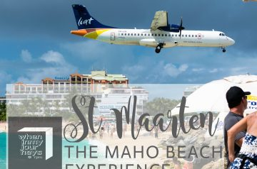 St. Maarten The Maho Beach Experience