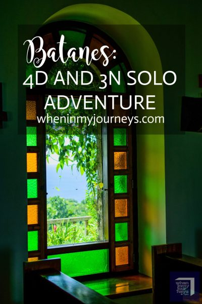 Batanes 4D and 3N Solo Adventure Portrait