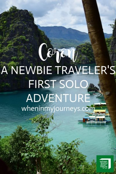 Coron A Newbie Traveler's First Solo Adventure Portrait