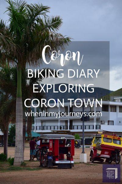 Coron Biking Diary Exploring Coron Town Portrait
