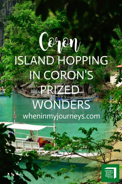 Coron Island Hopping in Coron's Prized Wonders Portrait
