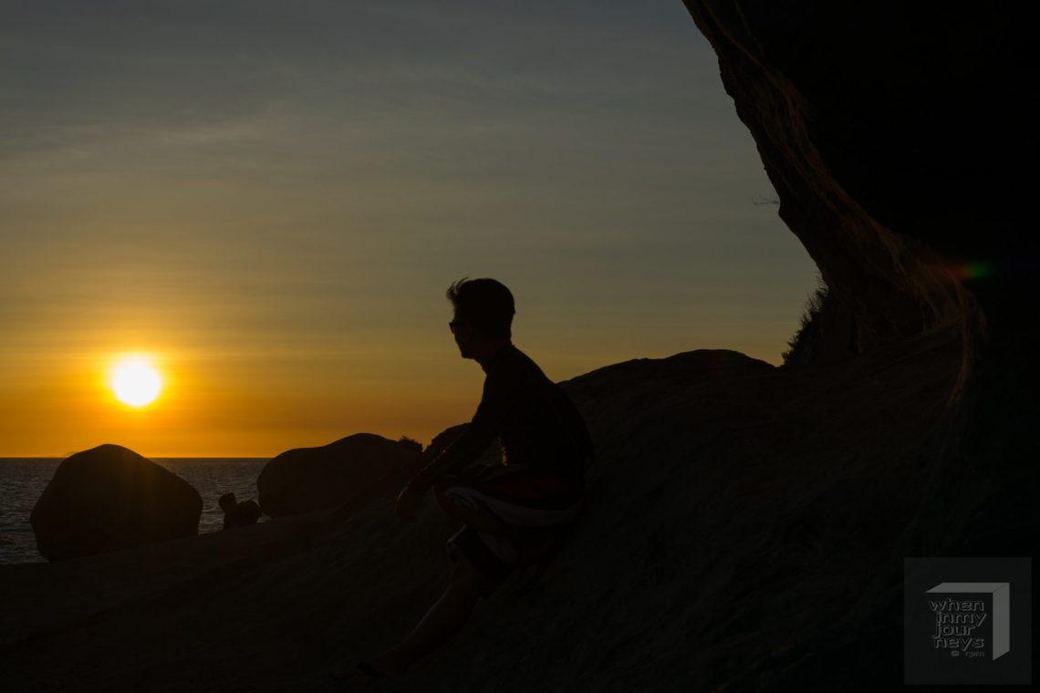 Tingloy Batangas Masasa Beach Sunset