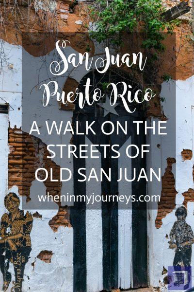 Old San Juan Puerto Rico A Walk On The Streets Of Old San Juan Portrait