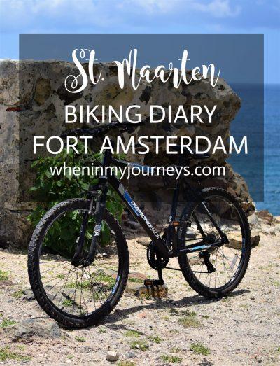 St. Maarten BikingDiary Fort Amsterdam Portrait