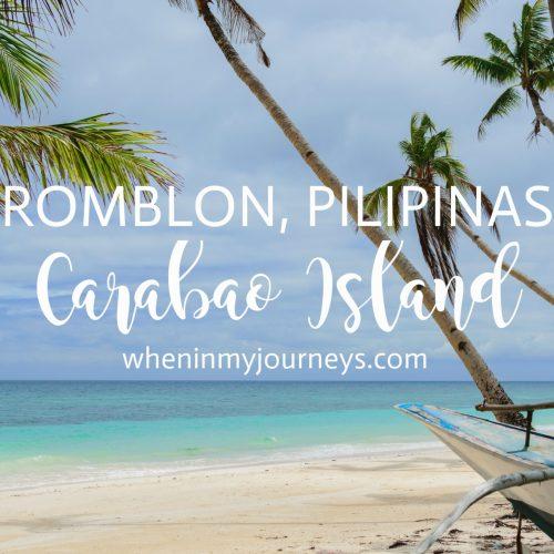 Carabao Island Romblon Portfolio Featured Image