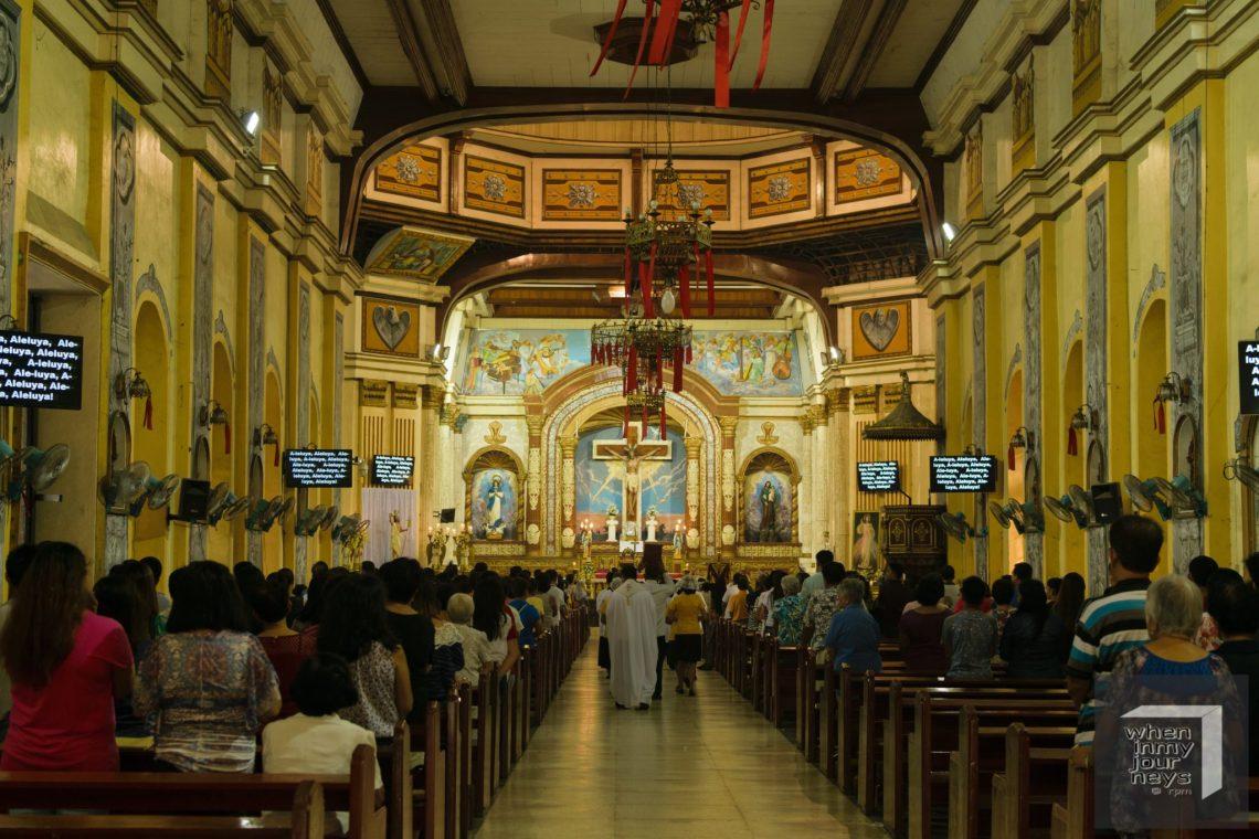 Bauan Church Immaculate Conception Parish Interior