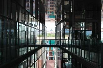 View from the Museo Nacional Centro de Arte Reina Sofía