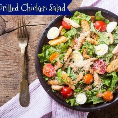 Healthy Grilled Chicken Salad