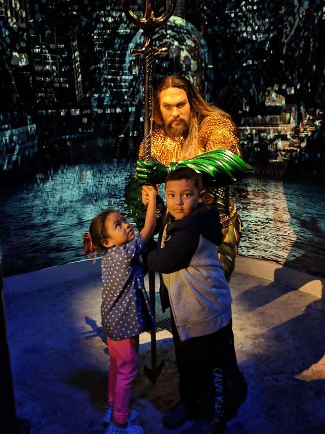 With Aquaman
