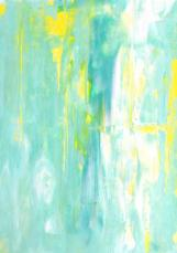 turquoise-and-yellow-abstract-art-painting-carollynn-tice