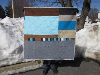 quilt minecraft fabric aced purchasing scraps really left these