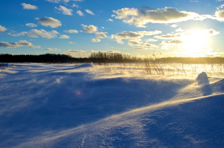Blowing Snow