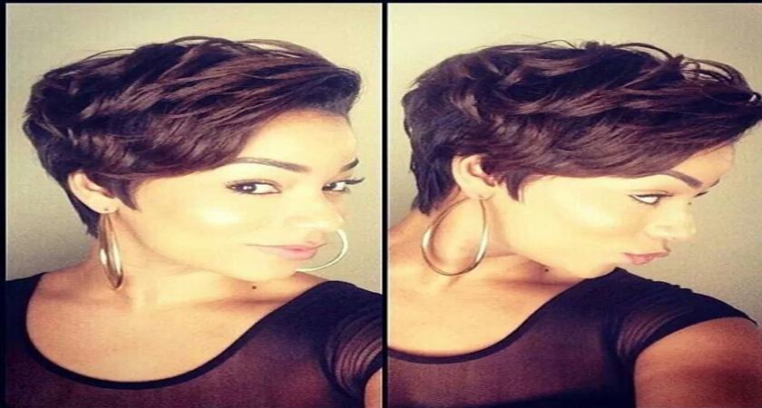 Hairstyles very short black women