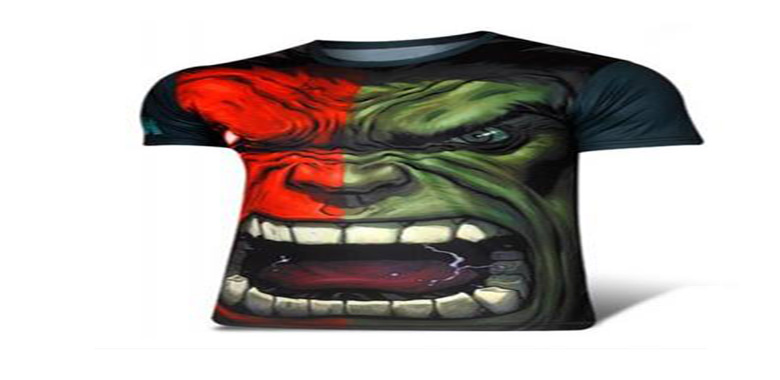 The Hulk Printed Round Neck Sliming Short Sleeve T-Shirt for Men Review