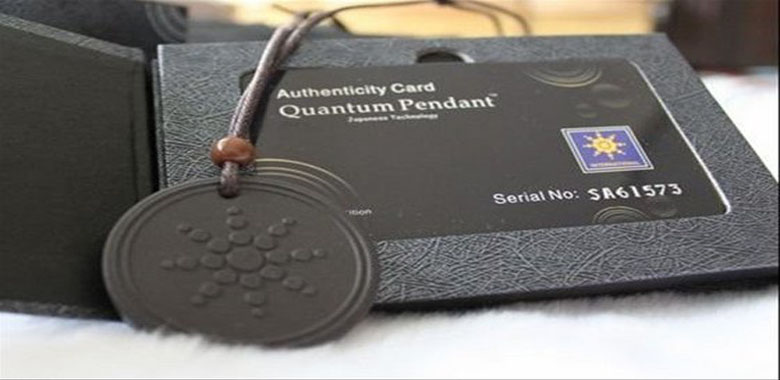 Health Benefits with Fashion, only with Quantum Pendants!