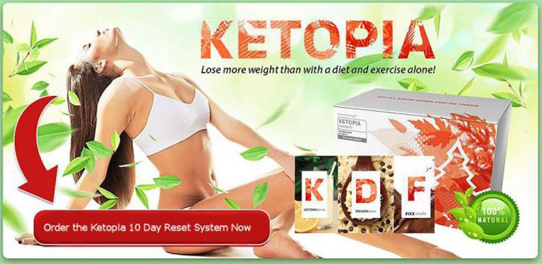 KETOPIA – BURN FAT, DON'T ABUSE CARBS