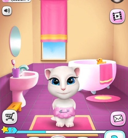 My talking Angela online hack