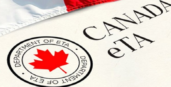 Application ETA Canada