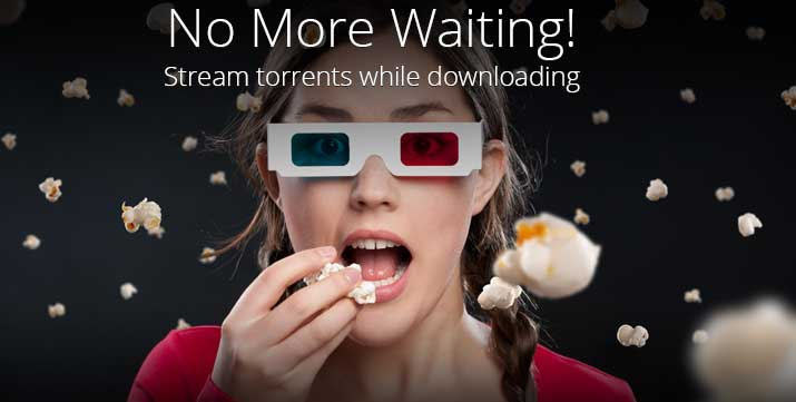 Stream Torrents for your favourite episodes on TV