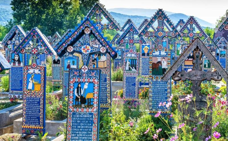 The Merry Cemetery (Cimitirul Vesel) – Săpânța, Romania
