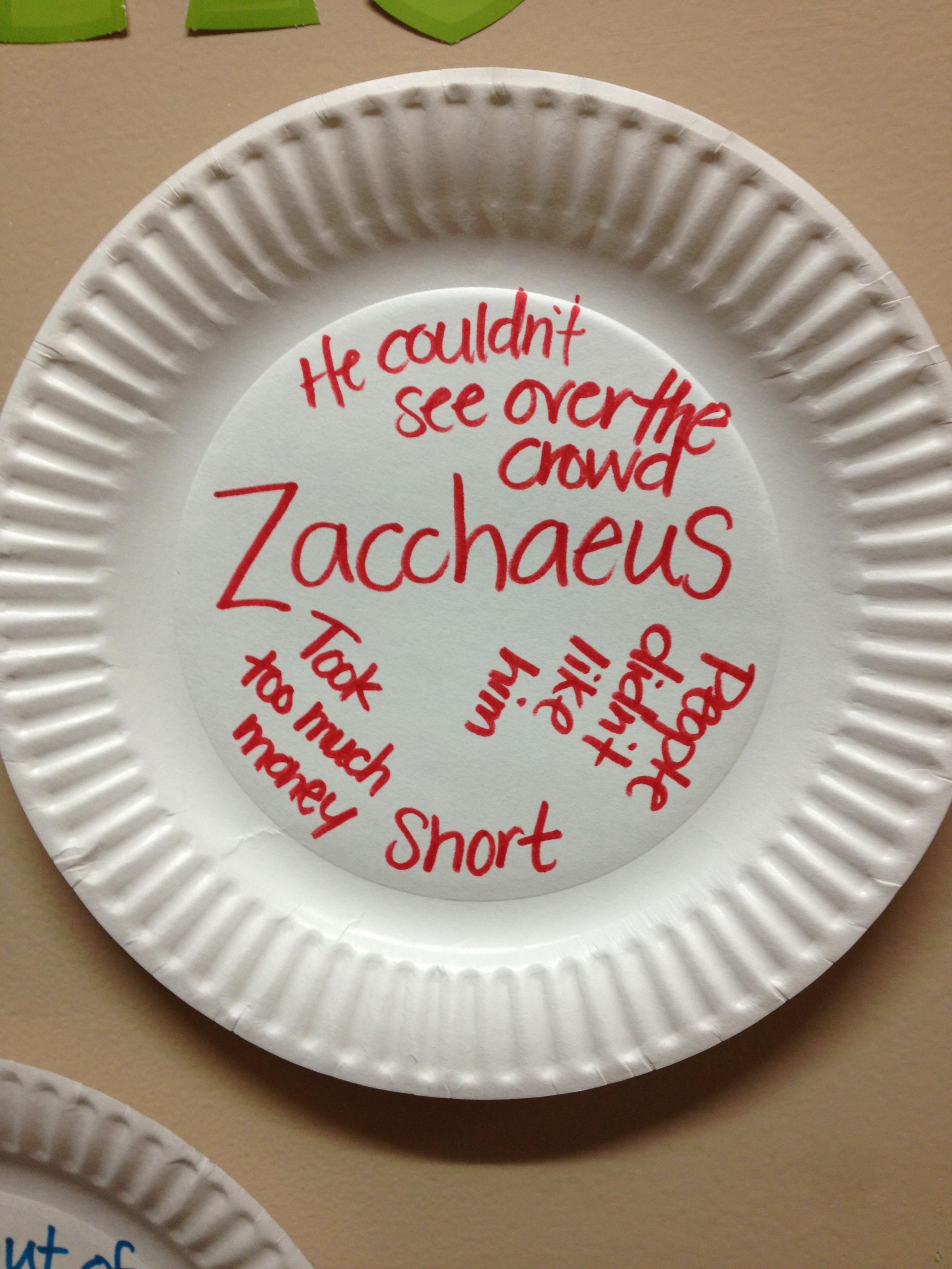 Guess Who S Coming To Dinner Zacchaeus Luke 19 1 8