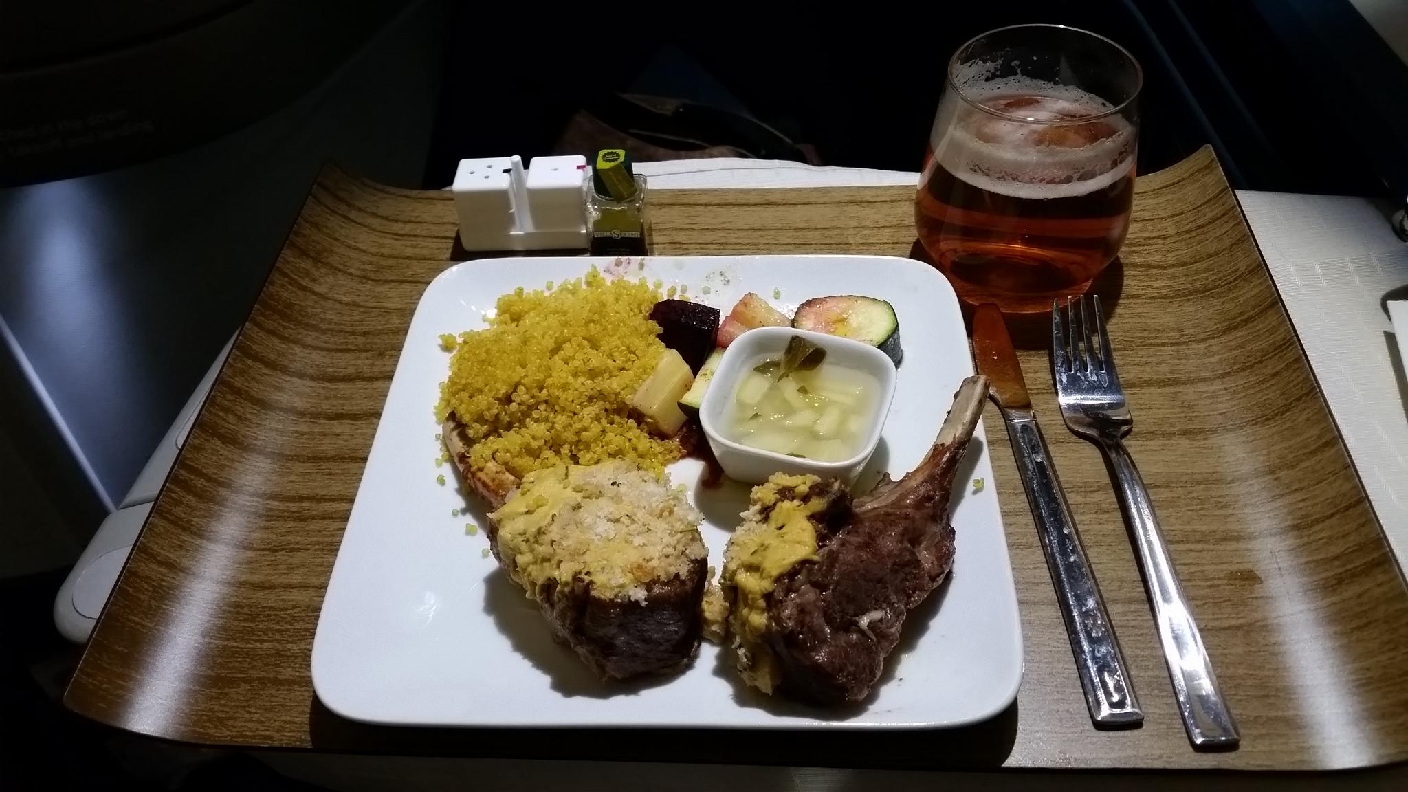 1st class dinner