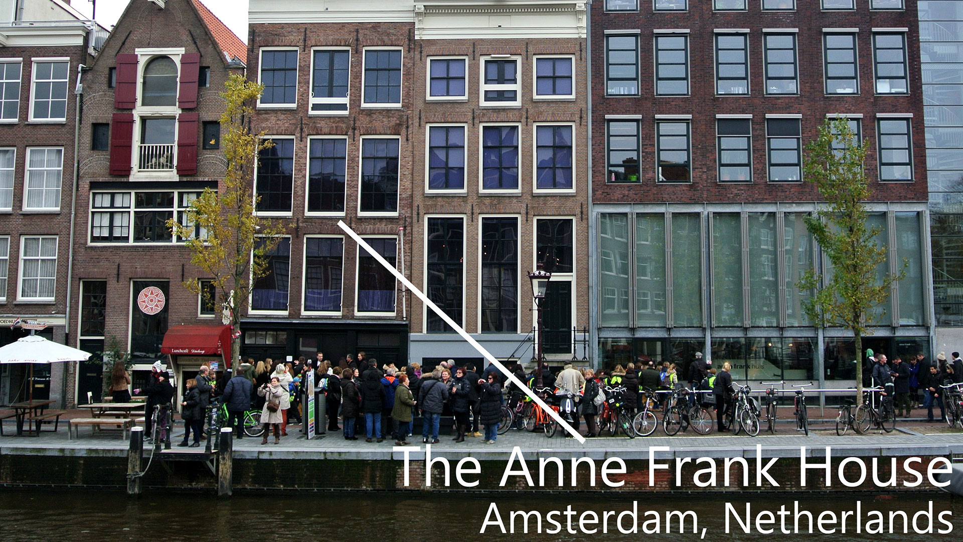 traveling to Amsterdam anne frank