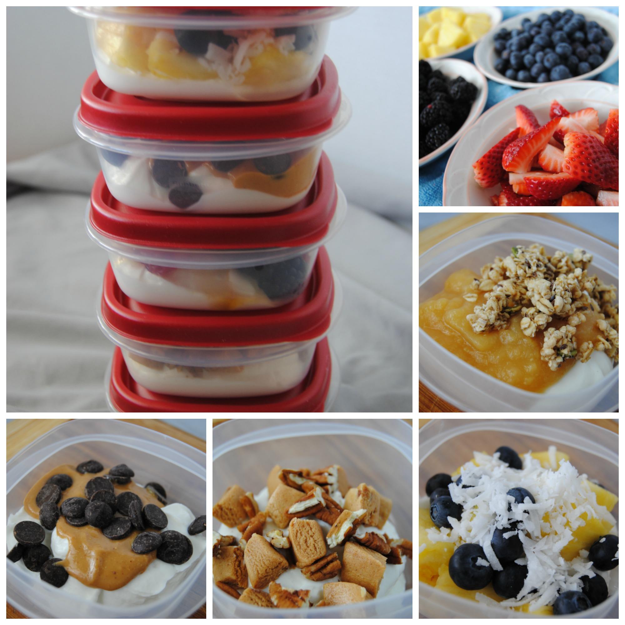 Greek Yogurt snack packs