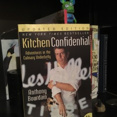 Kitchen Confidential Book Bookshelf Diving Into Oceans Of Books April 2018  When Stars