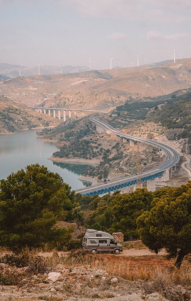 Winter road trip Spain