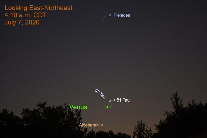 Venus in Taurus, July 7, 2020