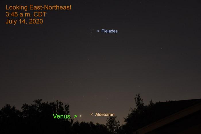 Venus in Taurus, July 14, 2020.