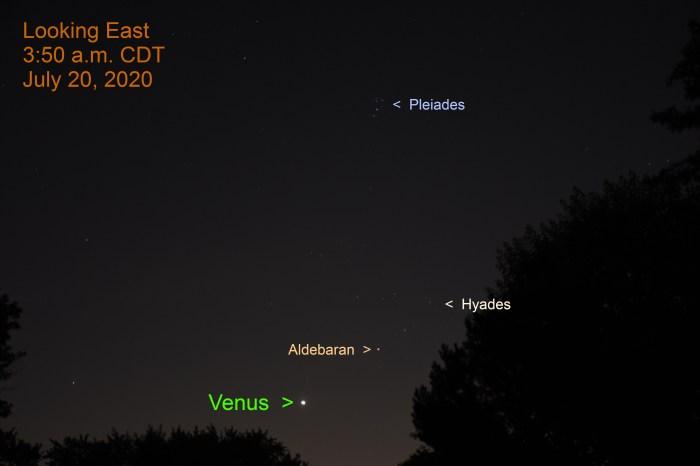 Venus in Taurus, July 20, 2020.