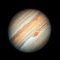 Jupiter Close up from Hubble Space Telescope