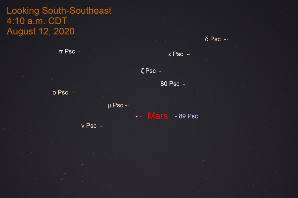 Mars in Pisces, August 12, 2020