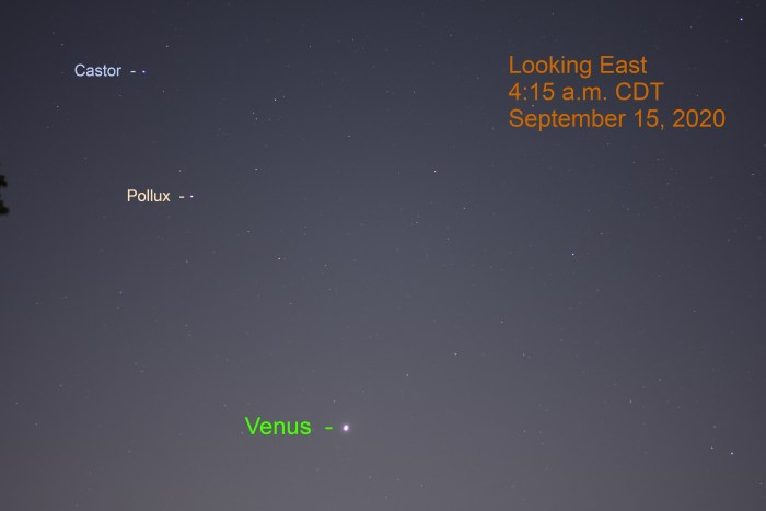 Venus moves into Cancer, September 4, 2020