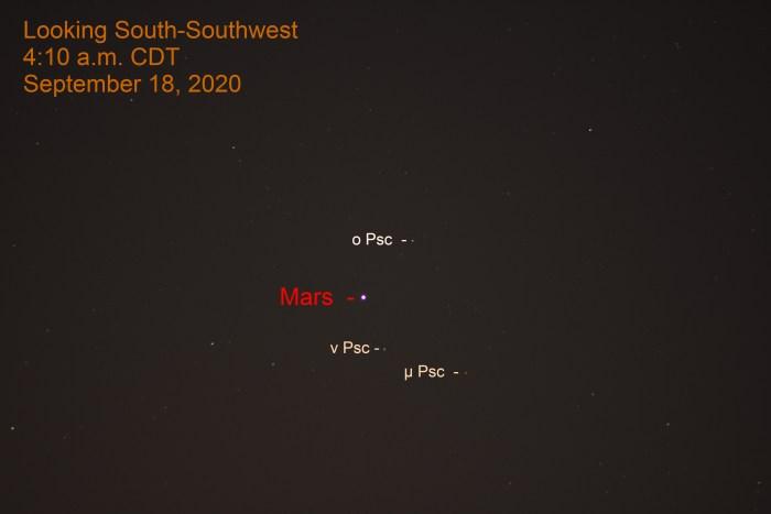 Mars in Pisces, September 18, 2020