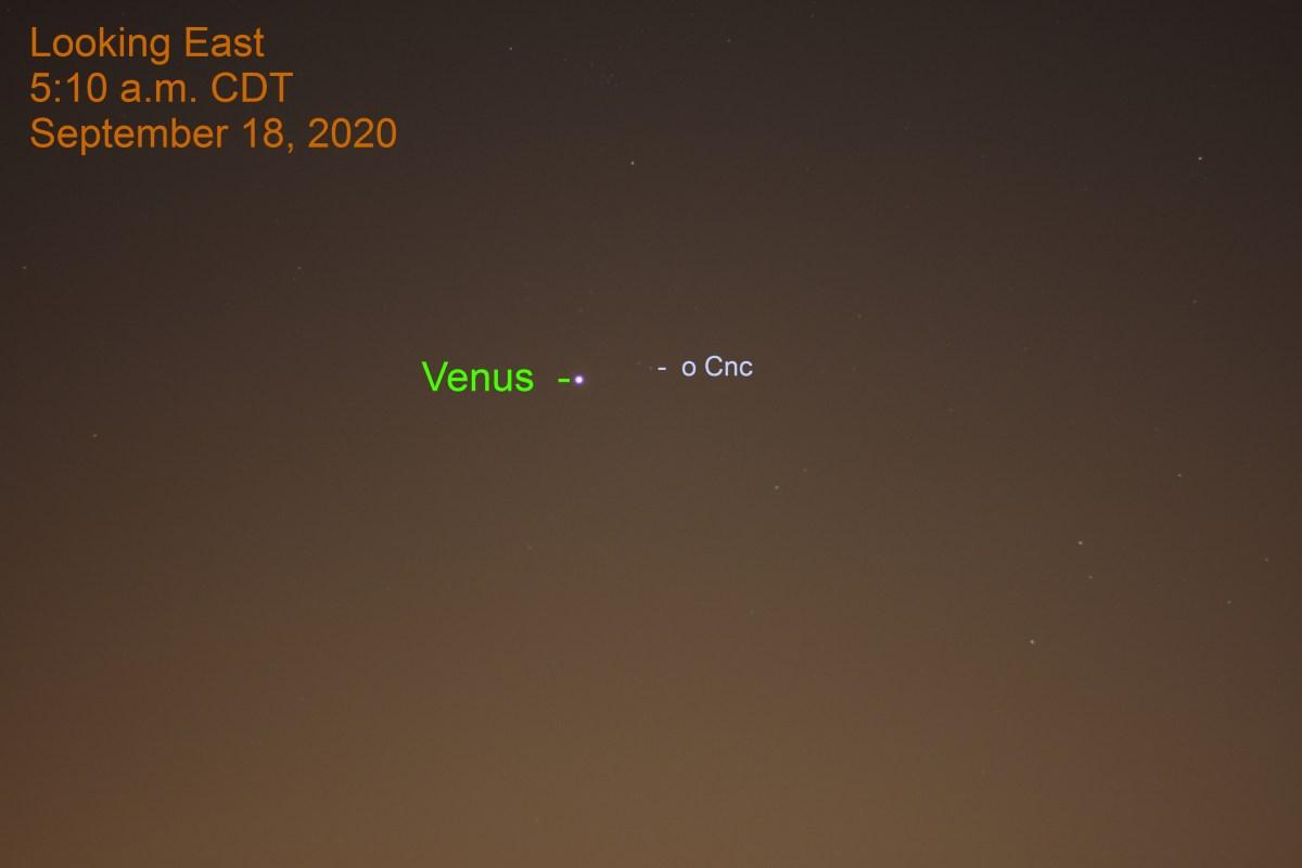 Venus in Cancer, September 18, 2020