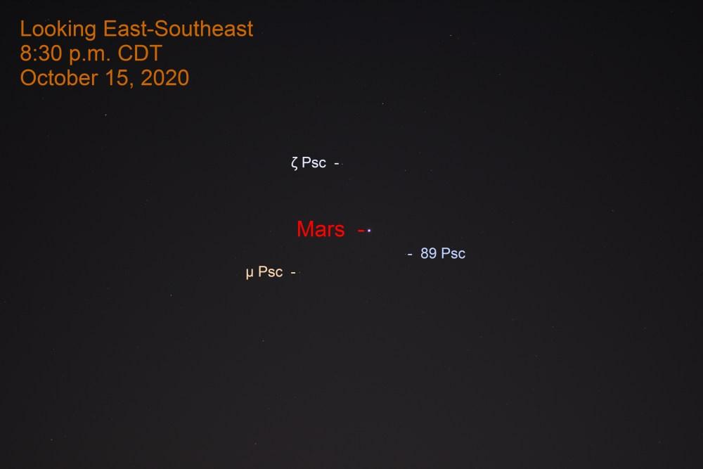 Mars in Pisces, October 15, 2020